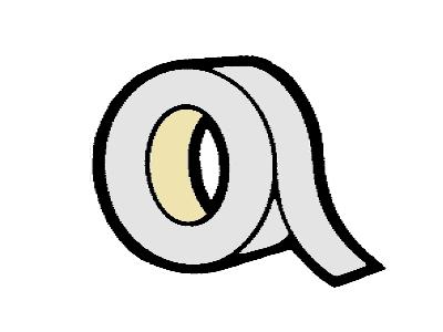 AL uzavírací páska 38 mm pro desky 16 mm (metráž)