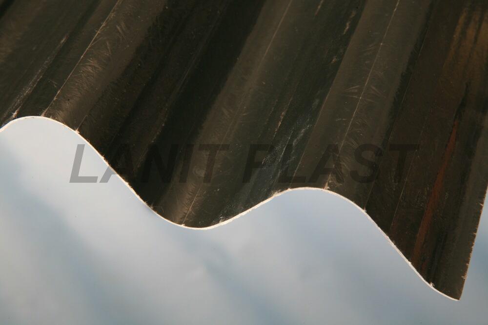 Sklolaminátová deska FILONvlna 94/35 síla 0,71 mm, šedá profil ONDULINE 0,94x2m