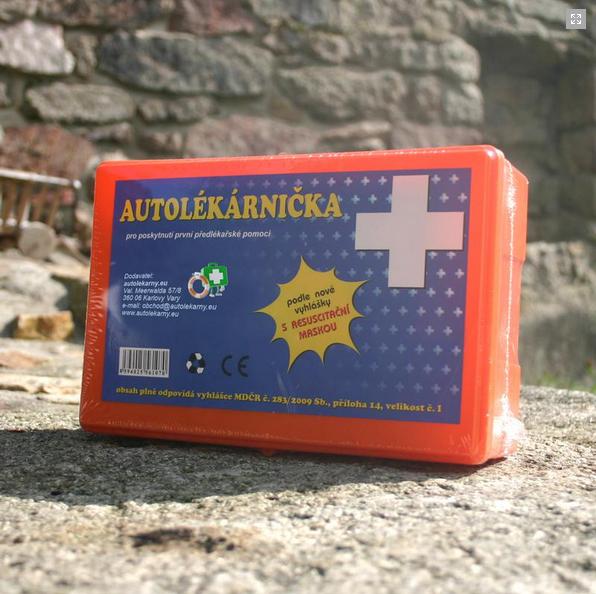 Autolékárnička 2011 plast
