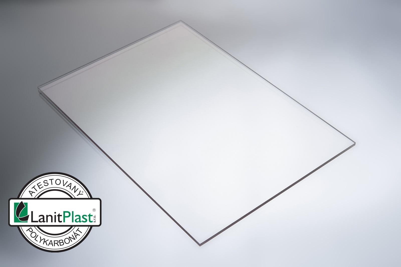 polykarbonát plný 3 mm čirý 1,025x3,050m