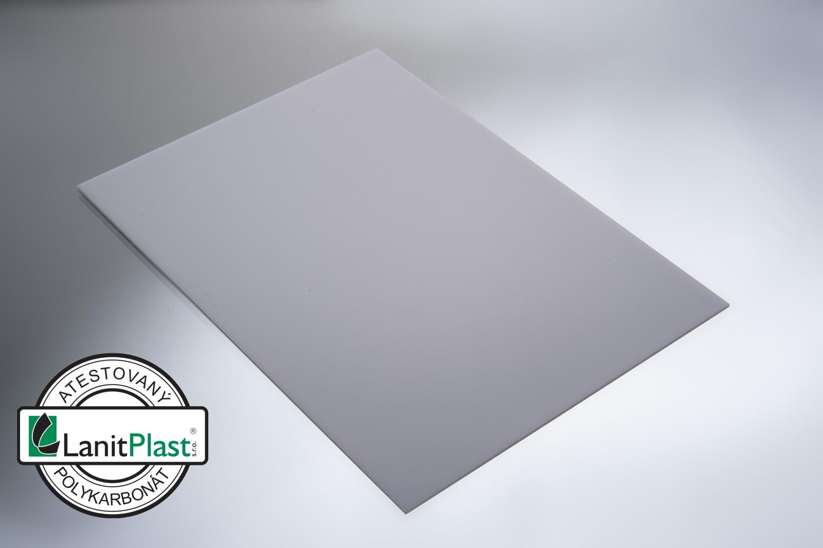 Polykarbonát plný  3 mm opál 1,025x1,016m