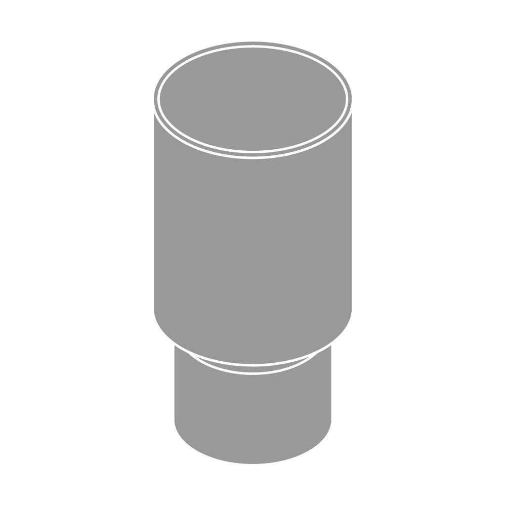 Spojka svodu DN 125 šedá barva