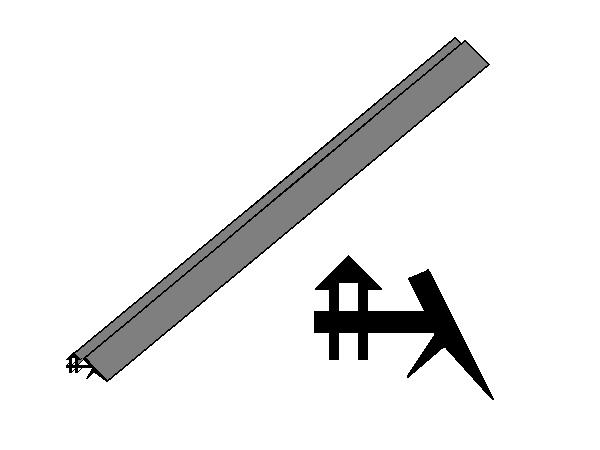 Těsnění do AL krycí lišty (metráž)