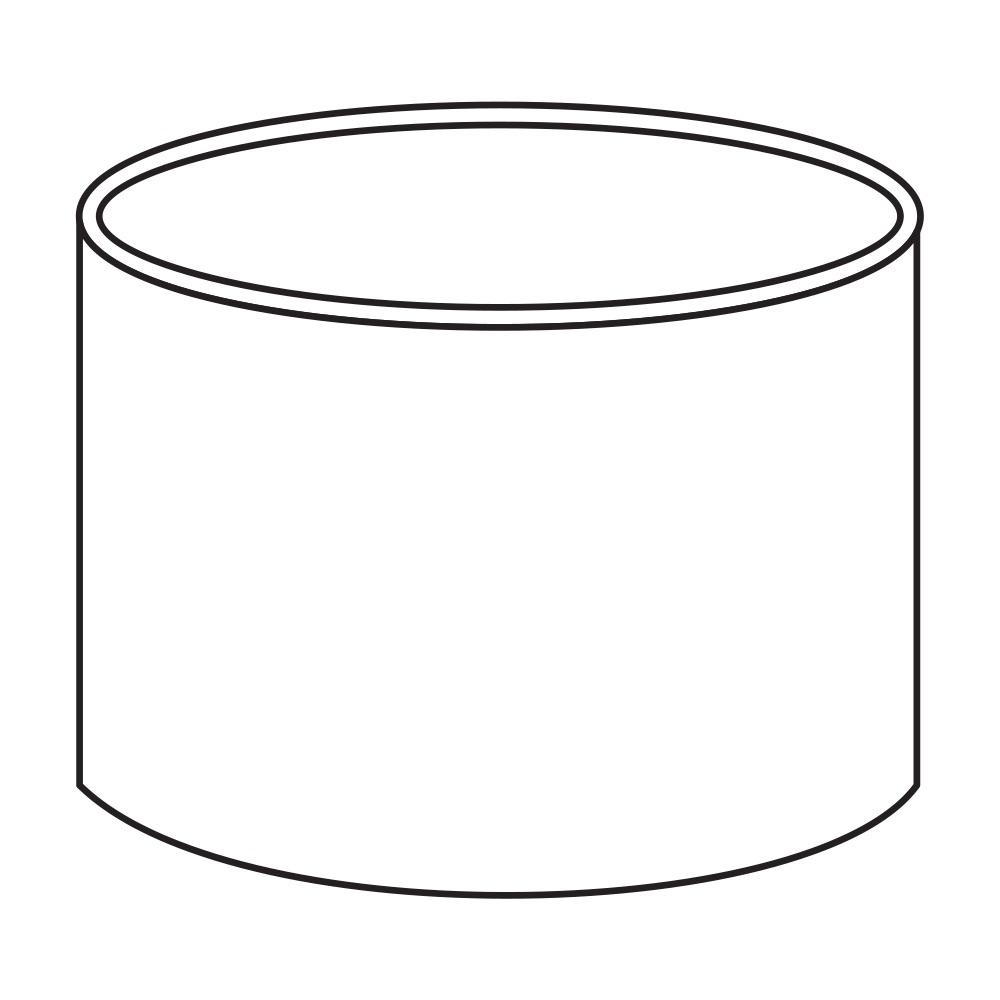 Spojka kolenDN 105 bílá barva