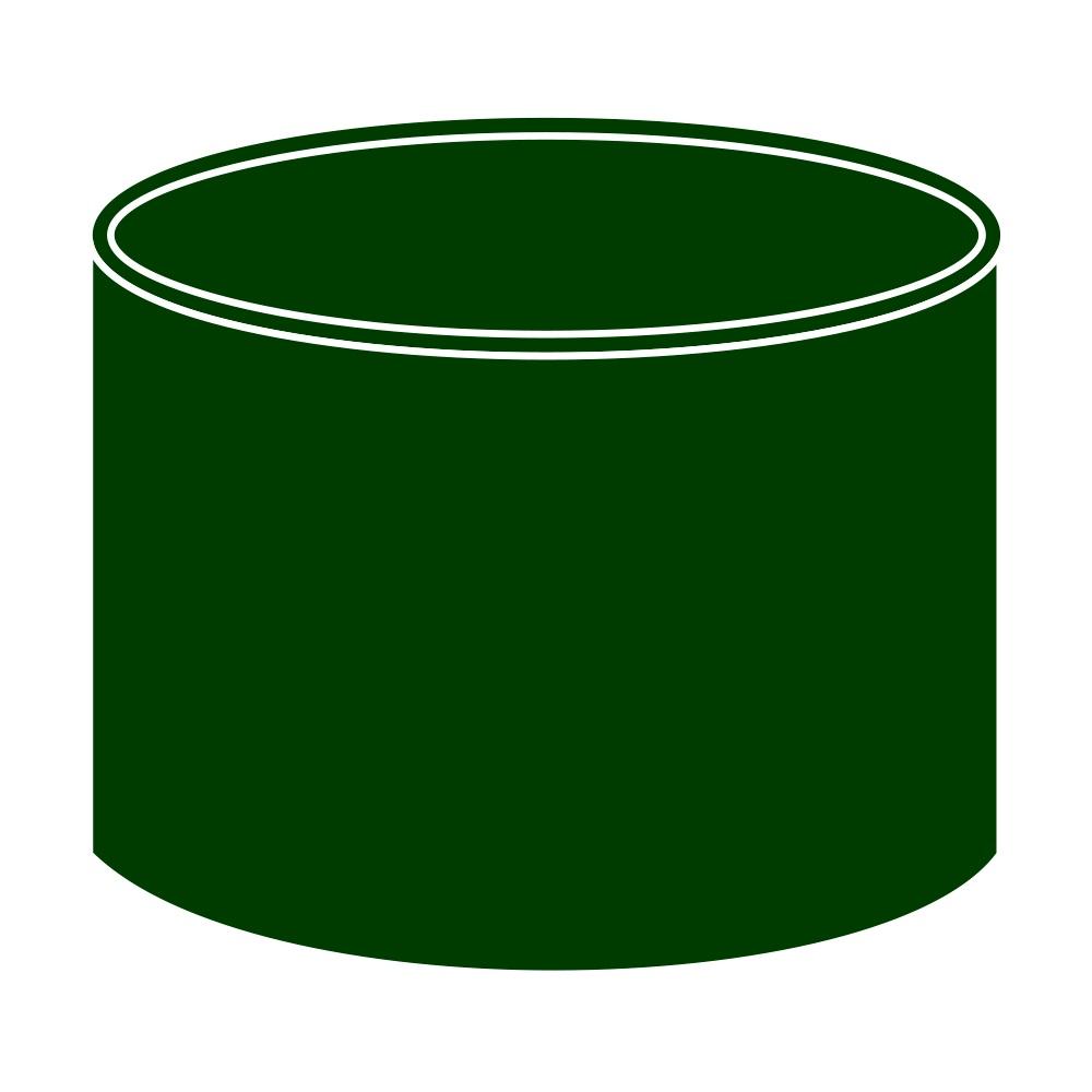 Spojka kolenDN 90 zelená barva