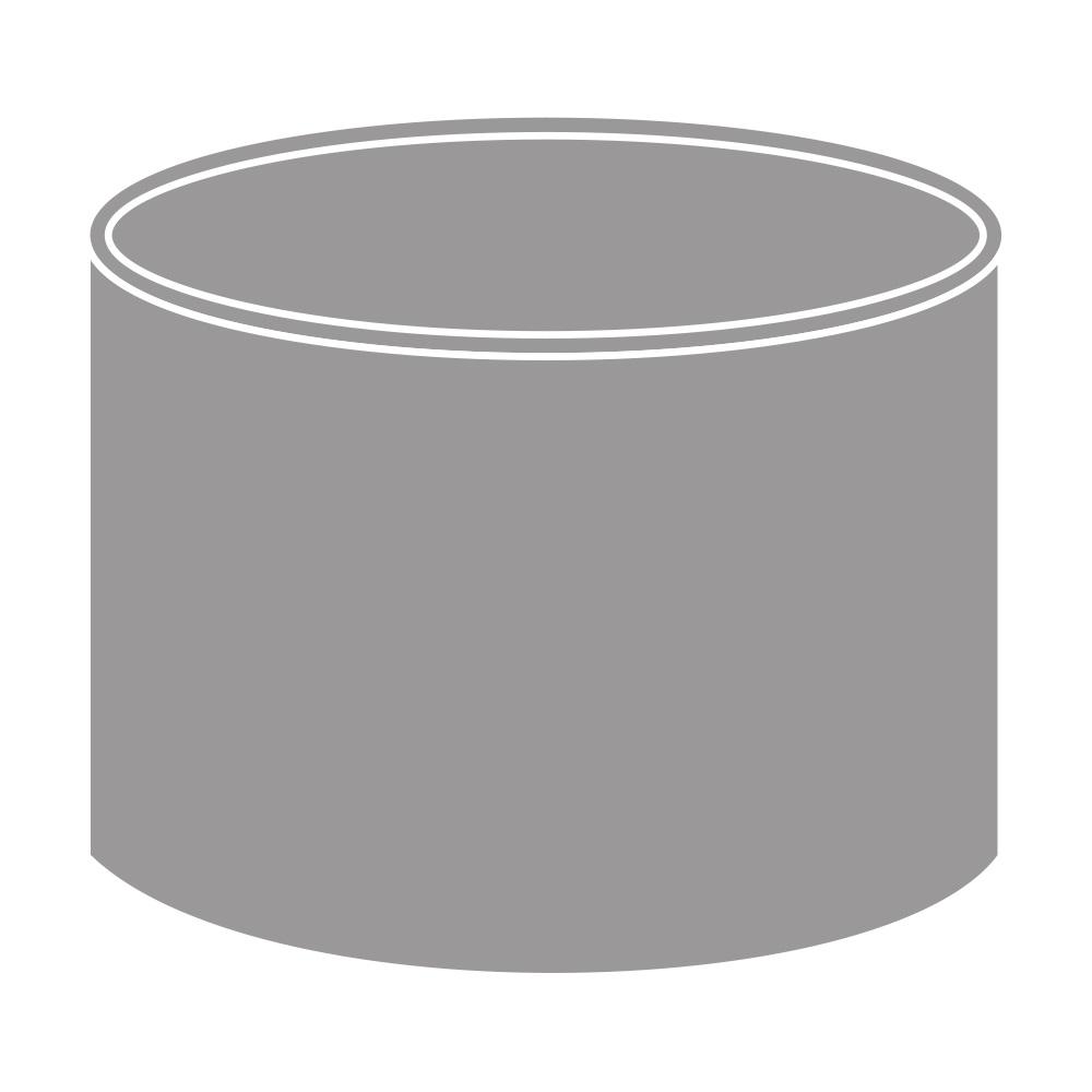 Spojka kolenDN 75 šedá barva