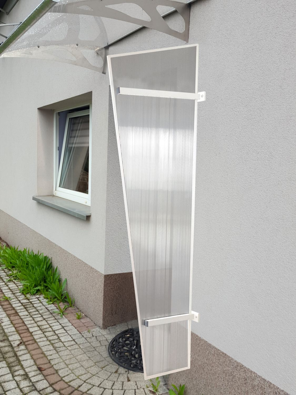 univerzální boční stěna LANITPLAST UNI bílá / PC