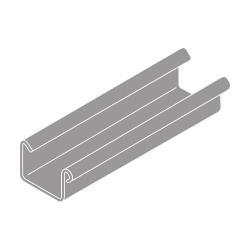 Okapový žlab RG 70 hranatý šedá barva 1m