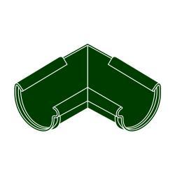 Roh vnitřní RG 100 půlkulatý zelená barva