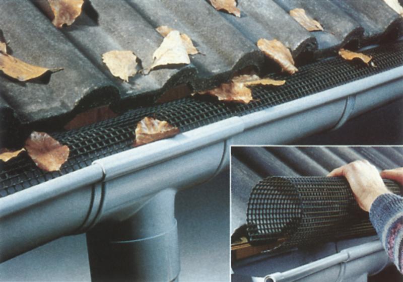 Oblý lapač listí pro RG 100/125 délka 2 m